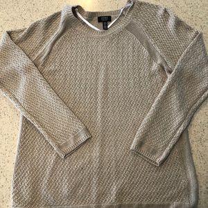 Jones New York tan sweater M